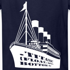 Titanic in CSS Kids' Shirts
