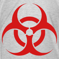 Design ~ Biohazard (on Right sleeve)   Men's Premium Tee
