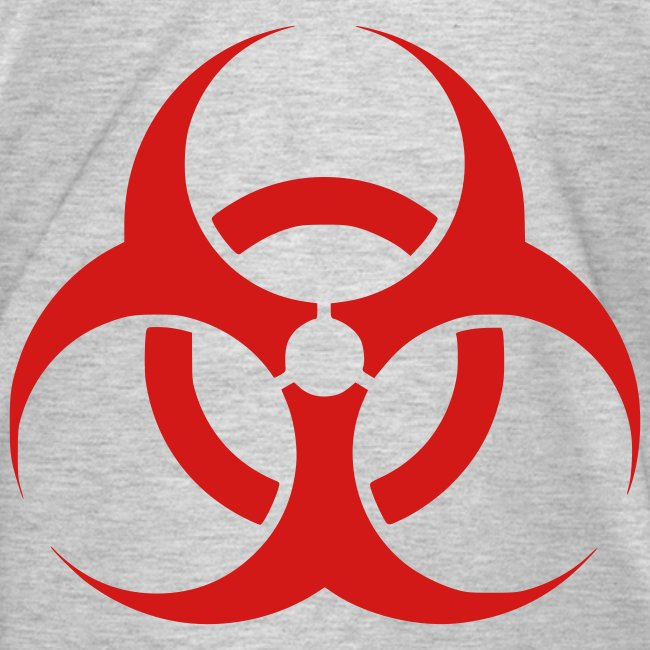 Biohazard (on Right sleeve)   Men's Premium Tee