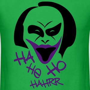 joker laughing - Men's T-Shirt
