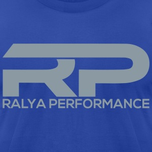 Ralya Performance Blue Short Sleeve  - Men's T-Shirt by American Apparel