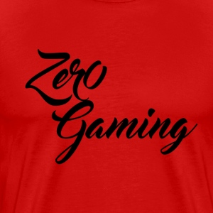 Zer0 Gaming Script T-Shirts - Men's Premium T-Shirt