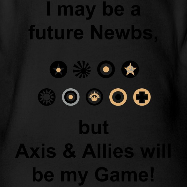 Axis & Allies Baby One Piece