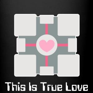 This Is True Love Companion Cube Mug - Full Color Mug