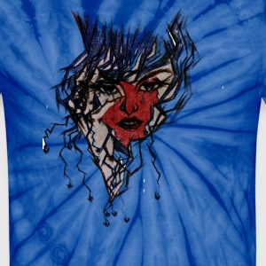 Red Face - Unisex Tie Dye T-Shirt