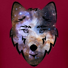 Cosmic Space Wolf Shirt