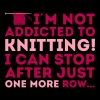 I'm not addicted to knitting! Women's T-Shirts - Women's Premium T-Shirt