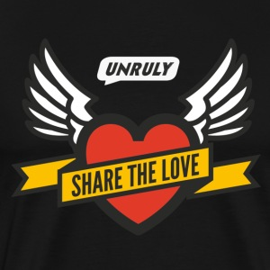 Share The Love Black Male - Men's Premium T-Shirt