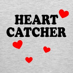 Heart Catcher Tank Tops