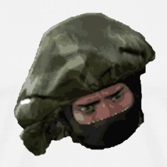Counter Terrorist face CS:GO