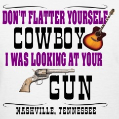 Nashville Looking at Your Gun