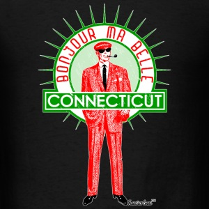 Bonjour ma belle Connecticut, Francisco Evans ™ T-Shirts - Men's T-Shirt