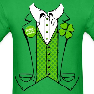 IRISH I WERE DRUNK  - Men's T-Shirt
