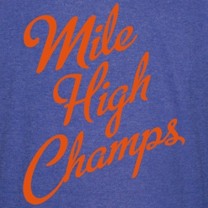 Mile High Champs T-Shirts - Vintage Sport T-Shirt