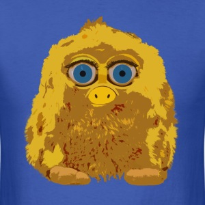 Cute Yellow Yeti Bigfoot T-Shirts - Men's T-Shirt