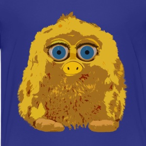Cute Yellow Yeti Bigfoot Kids' Shirts - Kids' Premium T-Shirt