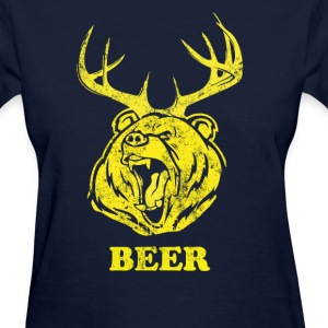 Bear-Deer - Women's T-Shirt