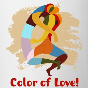 Color of Love - Ceramic Coffee mug! - Contrast Coffee Mug
