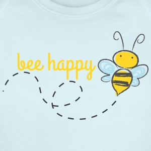 Bee Happy Baby   - Baby Short Sleeve One Piece