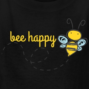 Bee Happy Kids Shirt - Kids' T-Shirt