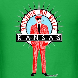 Bonjour ma belle Kansas, Francisco Evans ™ T-Shirts - Men's T-Shirt