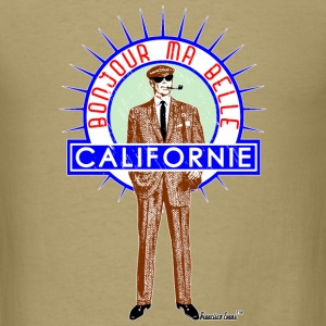 Bonjour ma belle Californie, Francisco Evans ™ T-Shirts - Men's T-Shirt