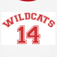 Design ~ MUSICAL WILDCATS - HIGH SCHOOL COSTUME Red Sleeves Shirt