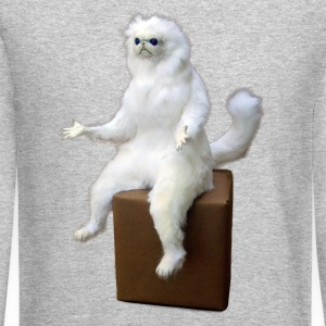 Persian Cat Meme Sweatshirt - Crewneck Sweatshirt