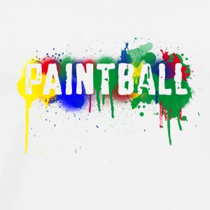 color_paintball-png - Men's Premium T-Shirt