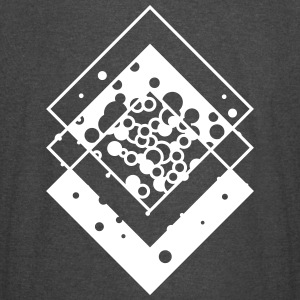 abstract shape of squares T-Shirts - Vintage Sport T-Shirt