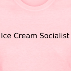 Ice Cream Socialist (Women's Pink)