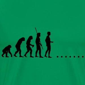 Evolution in nowhere Shirt - Men's Premium T-Shirt