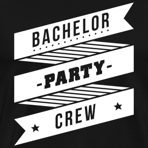 bachelor party crew T-Shirts - Men's Premium T-Shirt