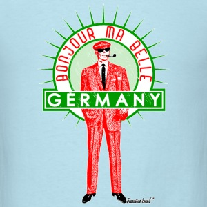 Bonjour ma Belle Germany, Francisco Evans ™ T-Shirts - Men's T-Shirt