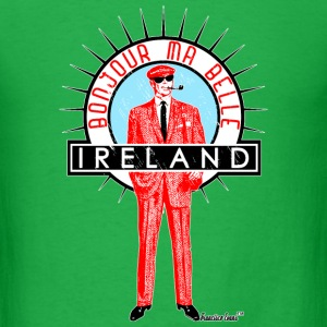 Bonjour ma Belle Ireland, Francisco Evans ™ T-Shirts - Men's T-Shirt