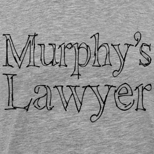 Murphy's Lawyer - black T-Shirts - Men's Premium T-Shirt