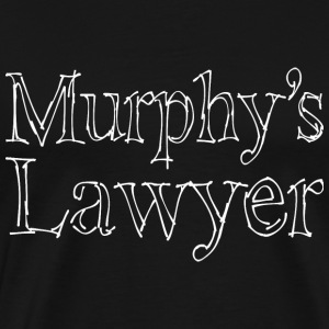 Murphy's Lawyer - white T-Shirts - Men's Premium T-Shirt