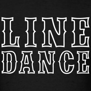 Line Dance Outline T-Shirts - Men's T-Shirt