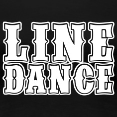 Line Dance Bold Women's T-Shirts