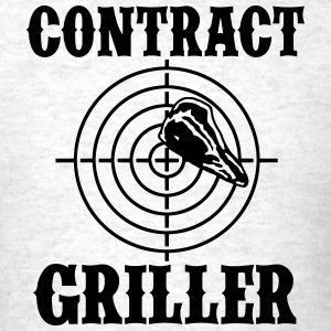 Contract Griller T-Shirts - Men's T-Shirt