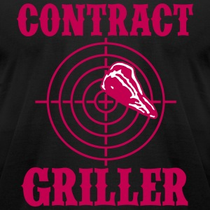 Contract Griller 2C T-Shirts - Men's T-Shirt by American Apparel