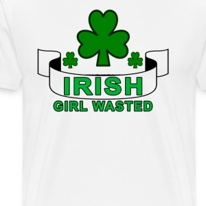irish_girl_wasted - Men's Premium T-Shirt