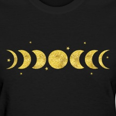 Moon Phases Women's T-Shirts