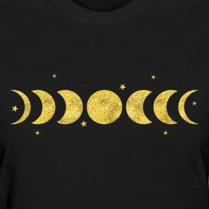 Moon Phases Women's T-Shirts - Women's T-Shirt