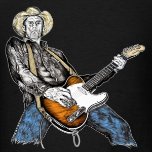 Country Rock Guitarist T-Shirts - Men's T-Shirt
