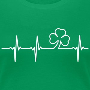 Irish Heartbeat - Women's Premium T-Shirt