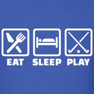 Eat sleep play field hockey T-Shirts - Men's T-Shirt