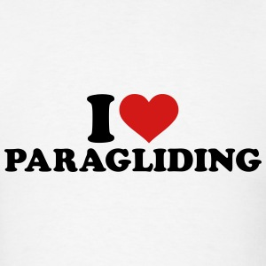 I love Paragliding T-Shirts - Men's T-Shirt