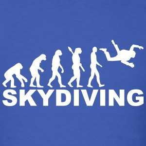 Evolution skydiving T-Shirts - Men's T-Shirt