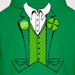 IRISH I WERE DRUNK SHIRT  - Men's Hoodie